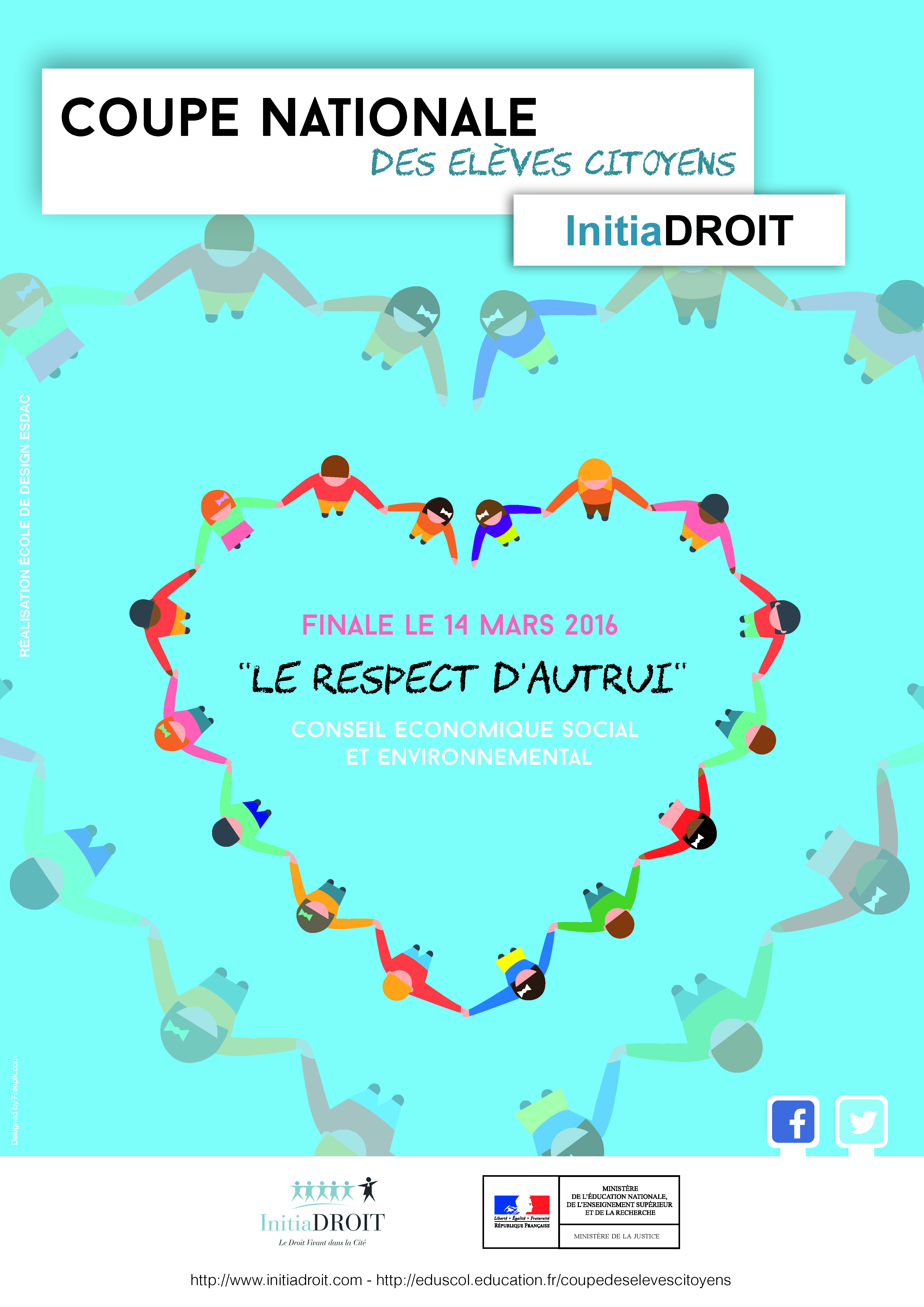 Affiche InitiaDROIT Coupe 2016