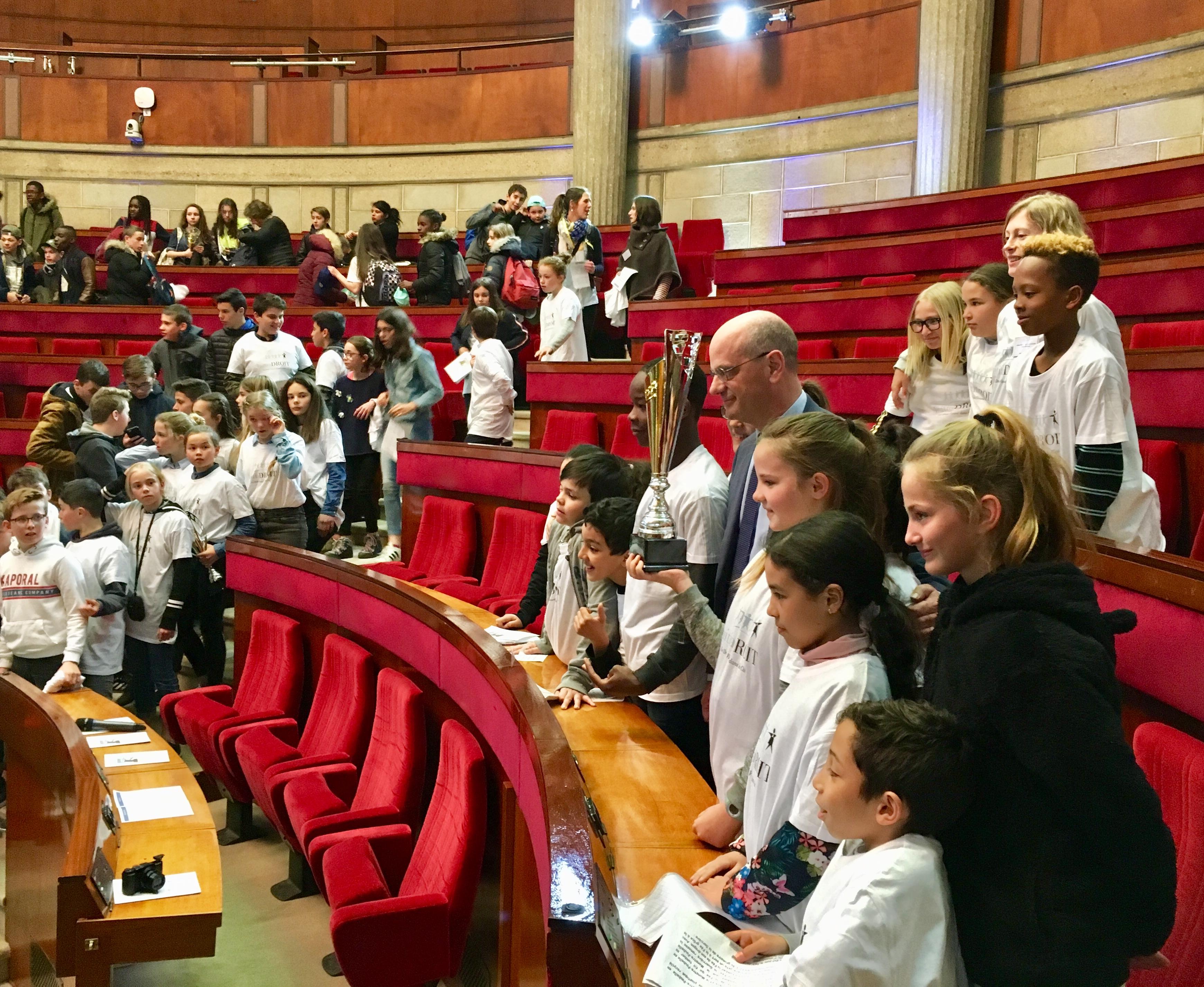 Ministre & élèves